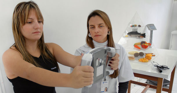 Atividade desenvolvida no curso de Nutrição da UNITAU - Foto de Fernando Candelária_UNITAU