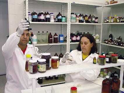 Laboratório de Agronomia da UNITAU