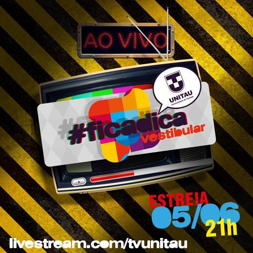 Programa #ficadica - Estreia 05/06/2012