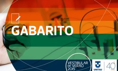 Gabarito_Vestibular UNITAU 2015