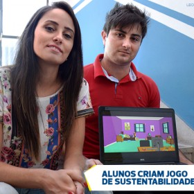 UNITAU_Alunos criam jogo de sustentabilidade