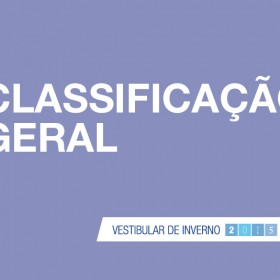 Classificação geral UNITAU