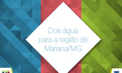 Alunos arrecadam doações para Mariana-MG