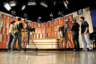 Estúdio de TV do Departamento de Comunicação Social